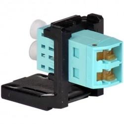 Modul adaptor de panou LC duplex, OM3/4, pt rama LANS