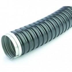 Tub gofrat metalic+izolatie 18 mm
