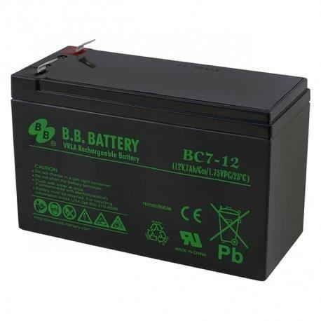 Acumulator stationar 12V 7Ah, F2/T2 - BB