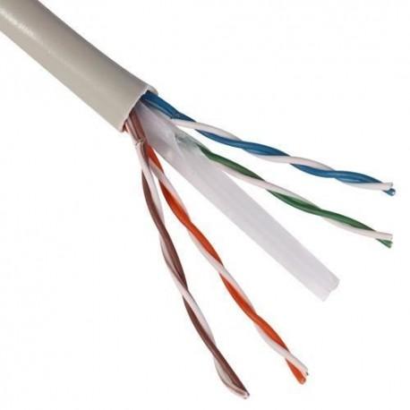 Cablu UTP, Cupru, categoria 6, 23AWG, Emtex, 305M/rola