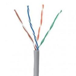 Cablu U/UTP cat.5e, manta PVC, Euroclass Eca - 305m/cutie, gri - Molex