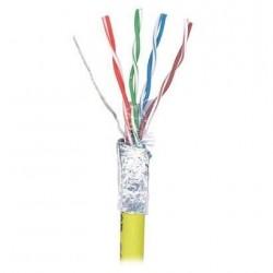 Cablu F/UTP cat.5e, manta PVC, Euroclass Eca - 305m/tambur, galben - Molex