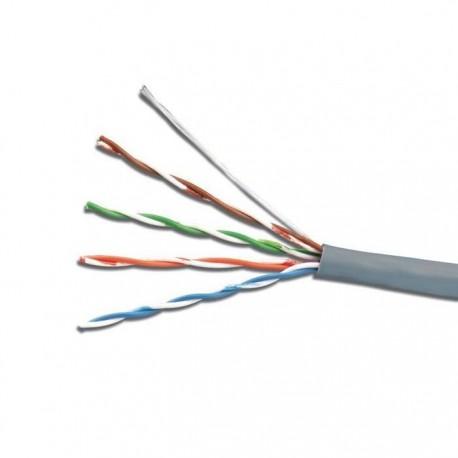 Cablu UTP cat.5e, patch,CU litat, AWG24, gri - Emtex (305m)