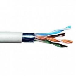 Cablu FTP, Cupru, categoria 5e, 24AWG, Emtex (305m)