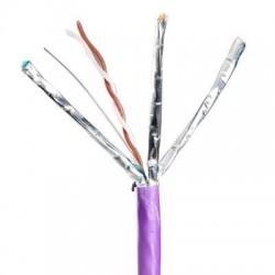 Cablu F/FTP cat.6A, manta LSZH, Euroclass Dca-s1a, d1, a1 - 500m/tambur, Violet - Molex