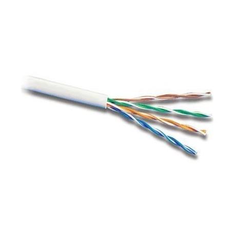 Cablu UTP cat.5e, patch,CU litat, AWG24, gri / Premium Cord (305m)