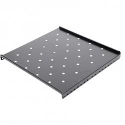Raft fix pentru rack perete 600mm , negru RAL9004 - DATEUP