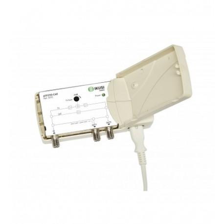 Amplificator TV IKUSI 2 iesiri 47-862 MHz TV+SAT