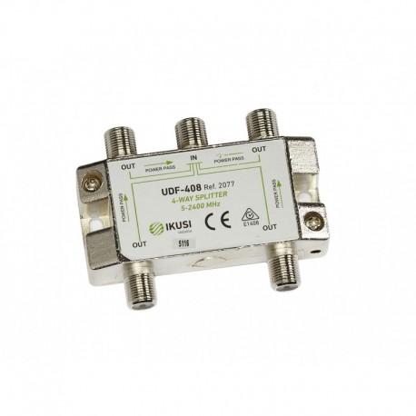 Splitter TV PowerPass IKUSI 4 iesiri 5-2.400 MHz