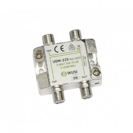Splitter TAP PowerPass IKUSI 2 iesiri, 5-2400 Mhz, 25db