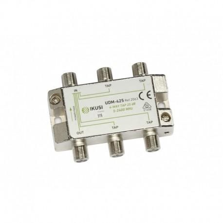 Splitter TAP PowerPass IKUSI 4 iesiri, 5-2400 Mhz, 25db
