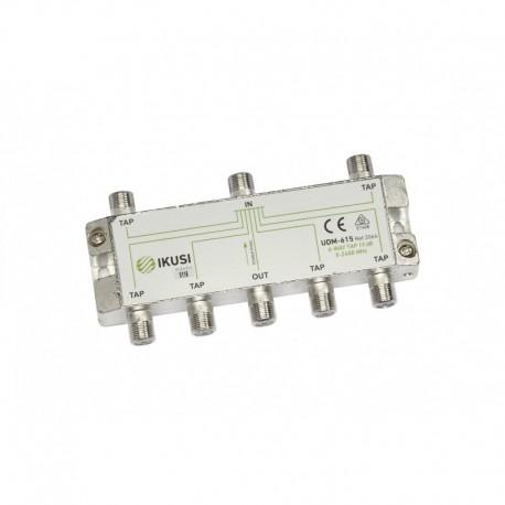 Splitter PowerPass 6 iesiri, 5-2400 Mhz, 15db, TAP, IKUSI UDM-615