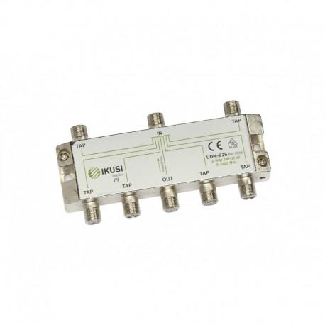 Splitter TAP PowerPass IKUSI 6 iesiri, 5-2400 Mhz, 25db