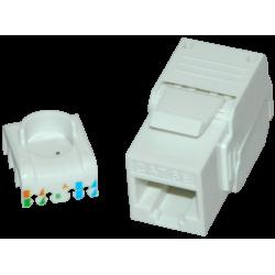 Keystone cat5e UTP , toolless - EMTEX