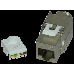 Keystone cat5e FTP, toolless - EMTEX