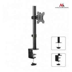 Suport universal de birou, pentru monitor / TV, LED / LCD, aluminiu, reglabil, 13 - 32 inch, Negru, MACLEAN, MC-751