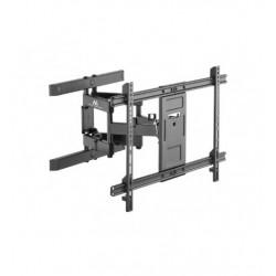 Suport TV reglabil 37-80 inch negru max vesa 600x400 60kg Maclean MC-881