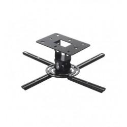 Suport universal de tavan / plafon, pentru videoproiector, reglabil, Negru, Maclean MC-780