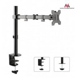 Suport de birou pentru monitor, reglabil, inclinare si rotire, 13-32 inch, Negru,  MC-753