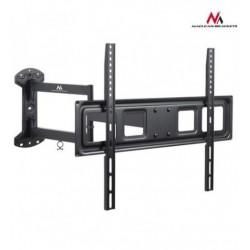 Suport TV de perete, reglabil, LCD / LED, functioneaza si pentru televizoare curbate, 37 - 70 inch, Negru. MACLEAN MC-798
