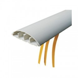 Canal cablu PVC pentru podea 70 x 18mm 2ML/BUC