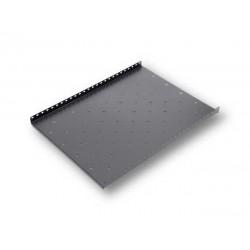 Raft fix capacitate ridicata pentru rack podea 800mm, negru RAL9004 - DATEUP