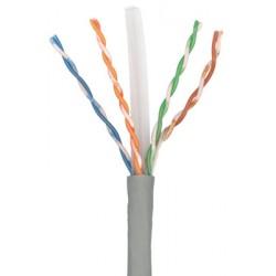 Cablu U/UTP cat.6, manta PVC, Euroclass Eca - 305m/cutie, Gri - Molex