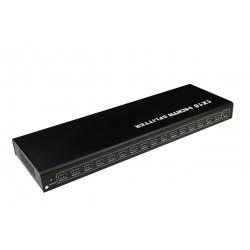 Splitter HDMI 16 porturi, Full HD, 4Kx2K@30Hz, 3D, HDMI 1.4a, PremiumCord