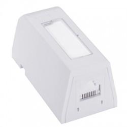 Priza aplicata Synergy Wallplate DG+ 1xRJ45 568A/B UTP PowerCat 6, White - Molex