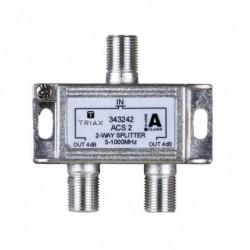Splitter 2 iesiri 5-1000 MHz, atenuare 4.0dB, TRIAX seria GOLD - ACS 2
