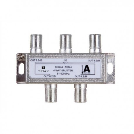 Splitter 4 iesiri 5-1000 MHz, atenuare 8.2dB, TRIAX seria GOLD - ACS 4
