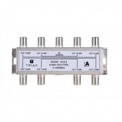 Splitter 8 iesiri 5-1000 MHz, atenuare 12.8dB, TRIAX seria GOLD - ACS 8