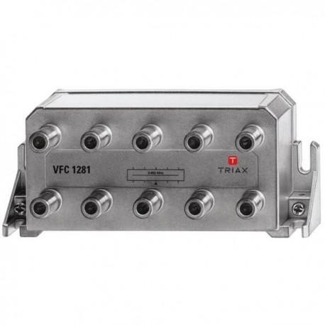 Splitter 8 iesiri 5-1200 MHz, CATV cu DOCSIS 2.0 / 3.0 / 3.1, TRIAX seria PLATINUM - VFC 1281