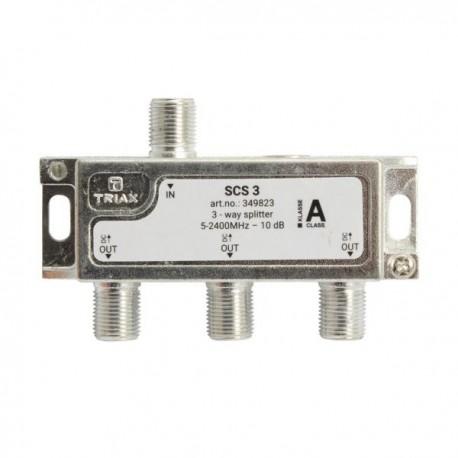 Splitter 3 iesiri 5-2400 MHz, TRIAX seria SILVER - SCS 3
