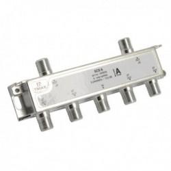 Splitter 6 iesiri 5-2400 MHz, TRIAX seria SILVER - SCS 6