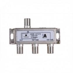 Splitter 2 iesiri TAP 10dB, 5-1000 MHz, TRIAX seria GOLD - ACT 2-10