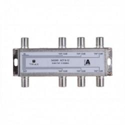 Splitter 6 iesiri TAP 12dB, 5-1000 MHz, TRIAX seria GOLD - ACT 6-12