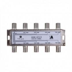 Splitter 8 iesiri TAP 16dB, 5-1000 MHz, TRIAX seria GOLD - ACT 8-16