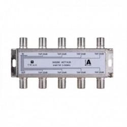 Splitter 8 iesiri TAP 20dB, 5-1000 MHz, TRIAX seria GOLD - ACT 8-20