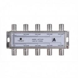 Splitter 8 iesiri TAP 24dB, 5-1000 MHz, TRIAX seria GOLD - ACT 8-24