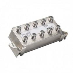 Splitter 8 iesiri TAP 16dB, 5-1200 MHz, CATV cu DOCSIS 2.0 / 3.0 / 3.1, TRIAX seria PLATINUM - AFC 1681