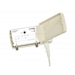 Amplificator CATV/SAT 18dB/22dB, 1 iesire, 47-862 MHz/950-2400 MHz, Ikusi, passive return