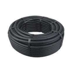 Tub gofrat ignifug diametrul exterior 32 mm , negru-MTR 25ML/ROLA