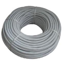 Tub gofrat ignifug diametrul exterior 16 mm , gri - MTR 100ML/ROLA