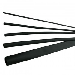 Tub termocontractabil 1,2 / 0,6 mm ET100, negru - ELEMATIC