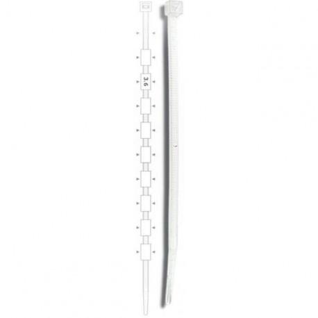 Brida plastic 3,5 x 140 (100buc) - ELEMATIC