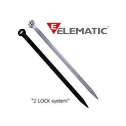 Brida plastic 2-LOCK 2,5 x 100 (100buc) - ELEMATIC