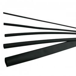 Tub termocontractabil 1,6 / 0,8 mm ET100, negru - ELEMATIC