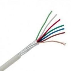 Cablu alarma efractie LiYStY 6 x 0,22 (100m)