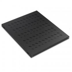 Raft fix 770mm pt. rack podea 1000mm Lande, 50kg, negru RAL9005